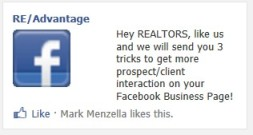 RE/Advantage FB Ad